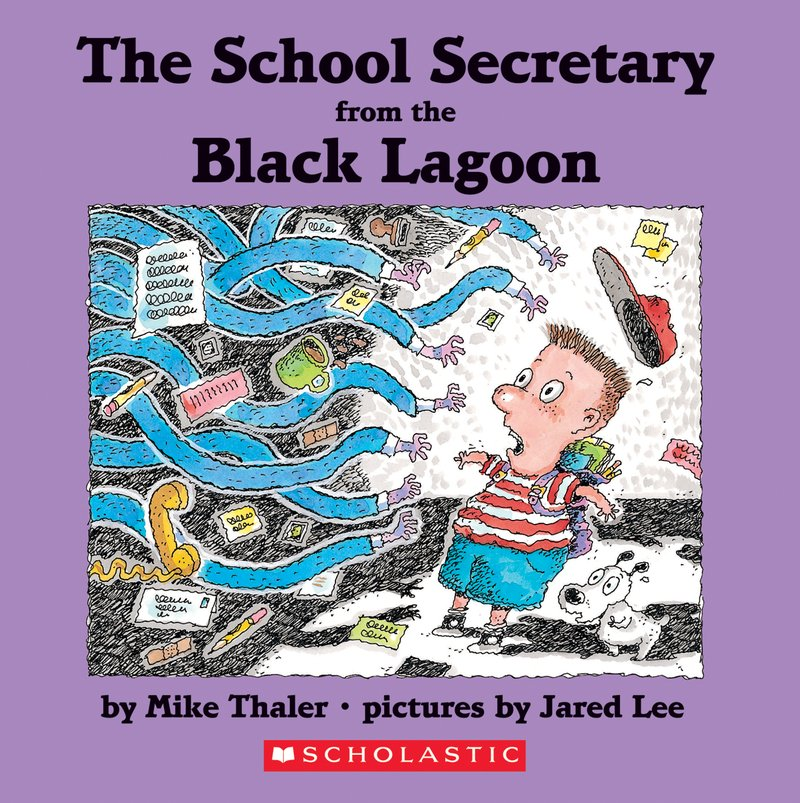 BL18-The School Secretary from the Black Lagoon