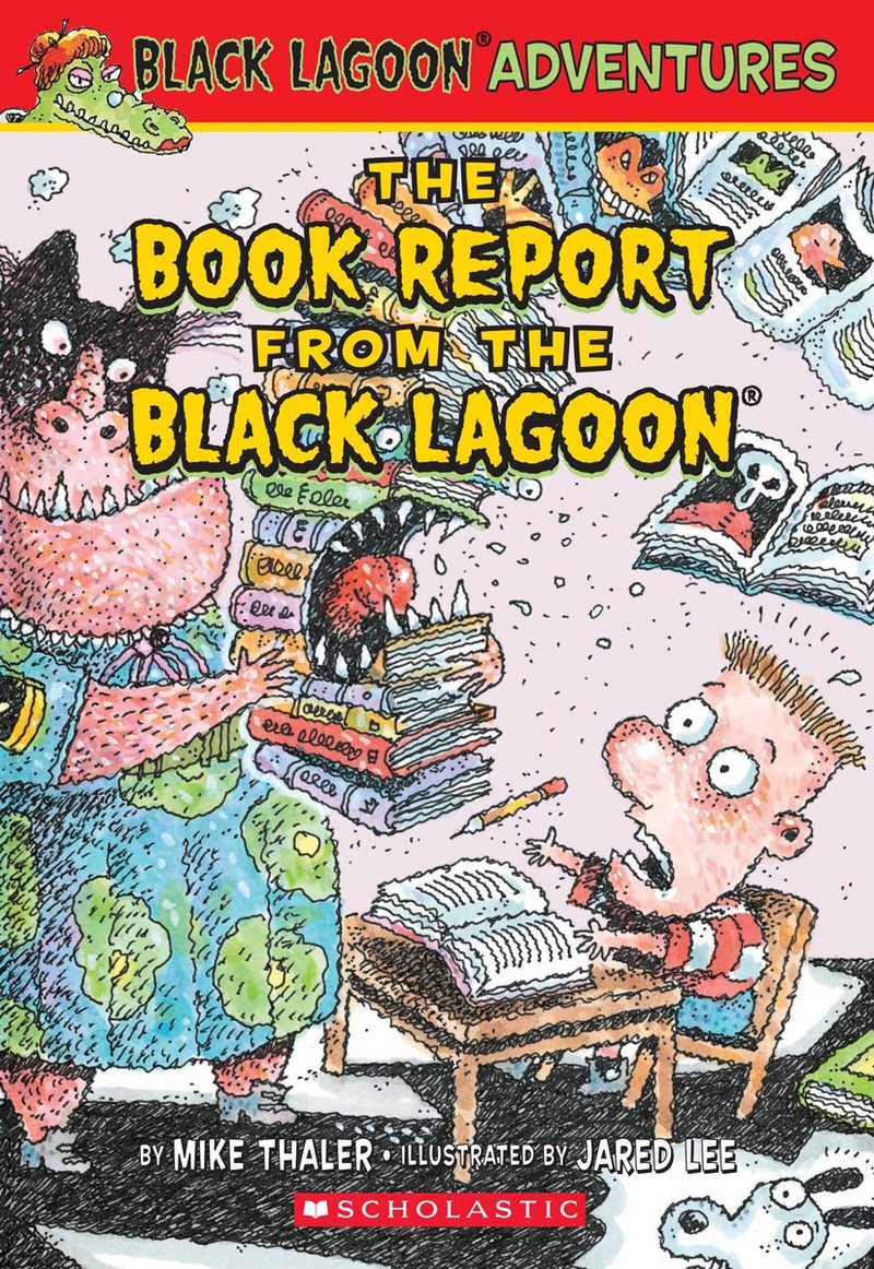 BLA00-The Book Report from the Black Lagoon