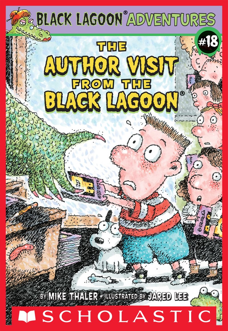 The Author Visit from the Black Lagoon