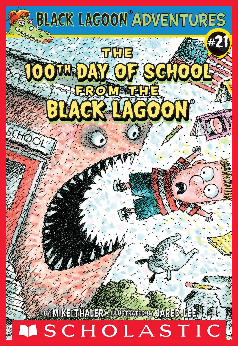 BLA21-The 100th Day of School from the Black Lagoon