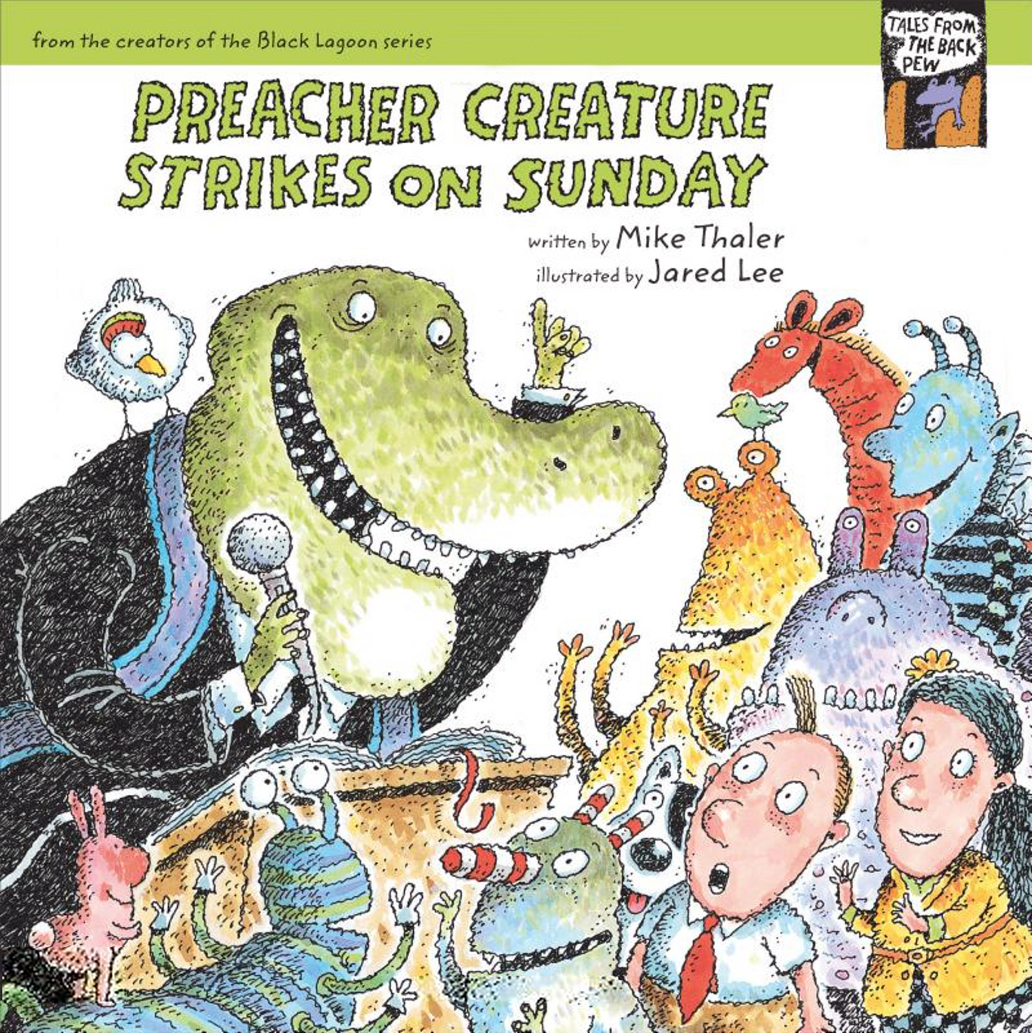 BackPew02-Preacher Creature Strikes on Sunday